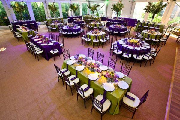 Amethyst Wedding-Event Decor