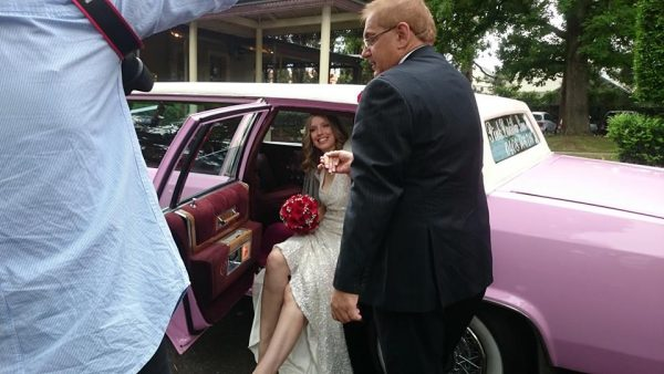 Pink Cadillac Limo Hire Melbourne