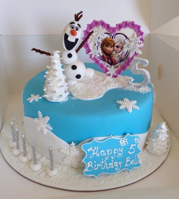 Frozen Birthday Cakes In Adelaide