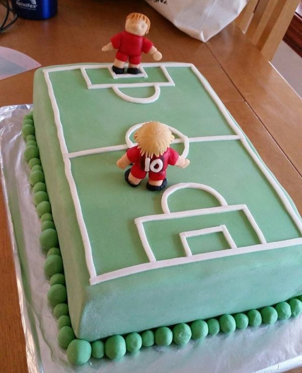Soccer Cake Decorations Melbourne