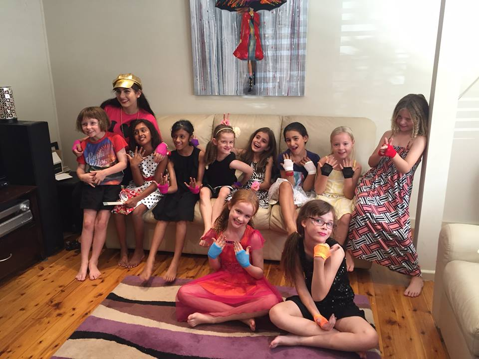 Kids pamper parties