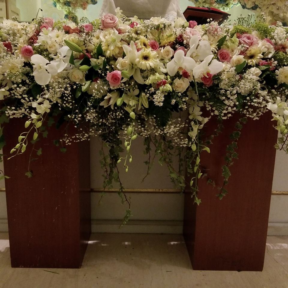 BALI SAINT Florist-wedding decor