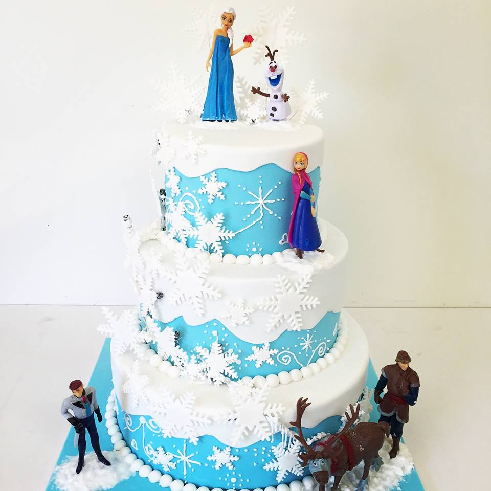 Frozen Cake Decorations Brisbane