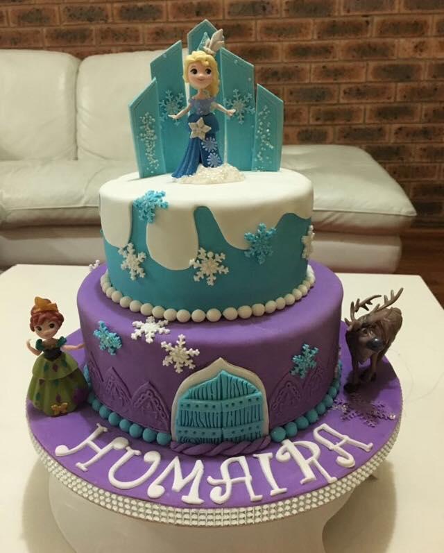 Frozen Birthday Cake Sydney