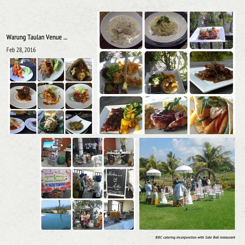 PBM management-BBC catering