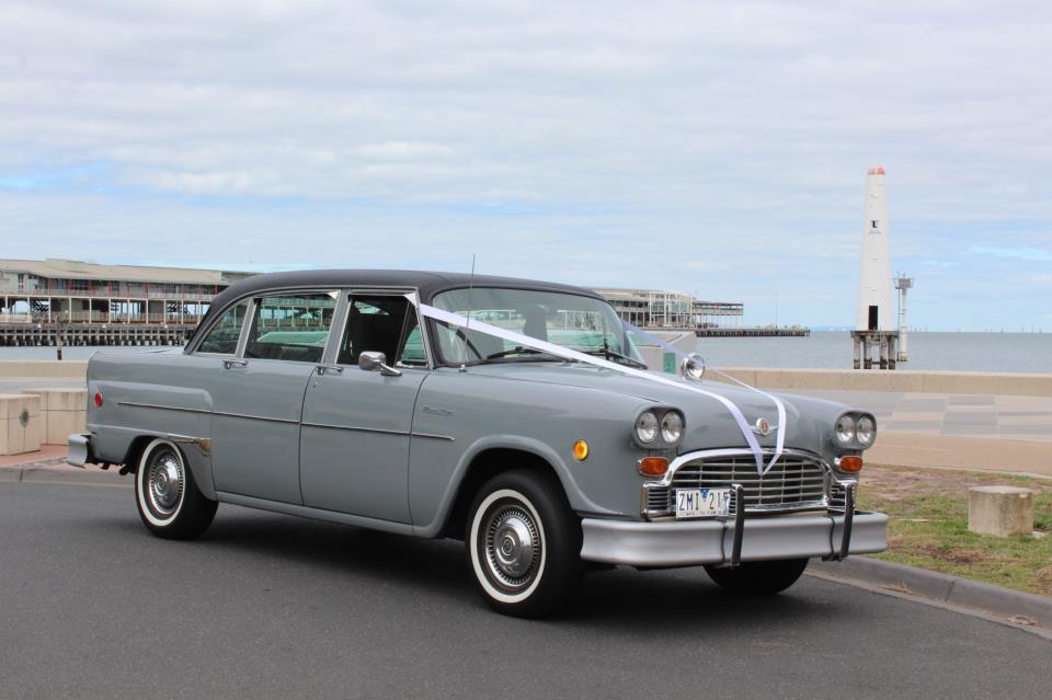Checker Cab Weddings