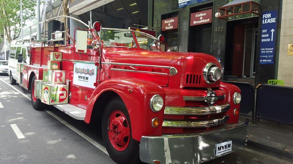 Fire Truck Hire Melbourne