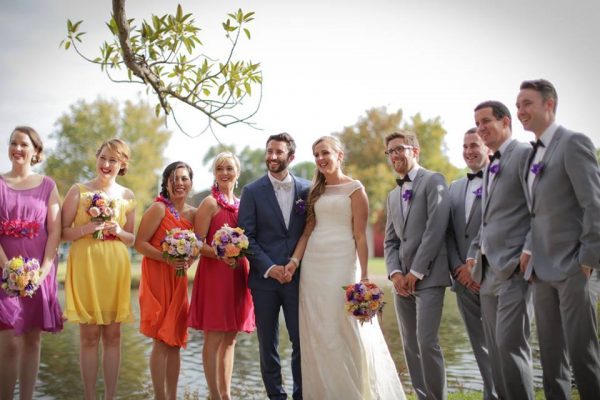 Purple Ribbon Weddings