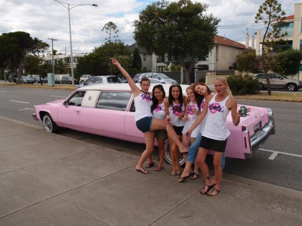 Pink Cadillac Limo Hire Melbourne   Parties2Weddings