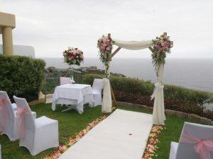 Outdoor Wedding Aisles