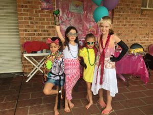 Kids pamper parties