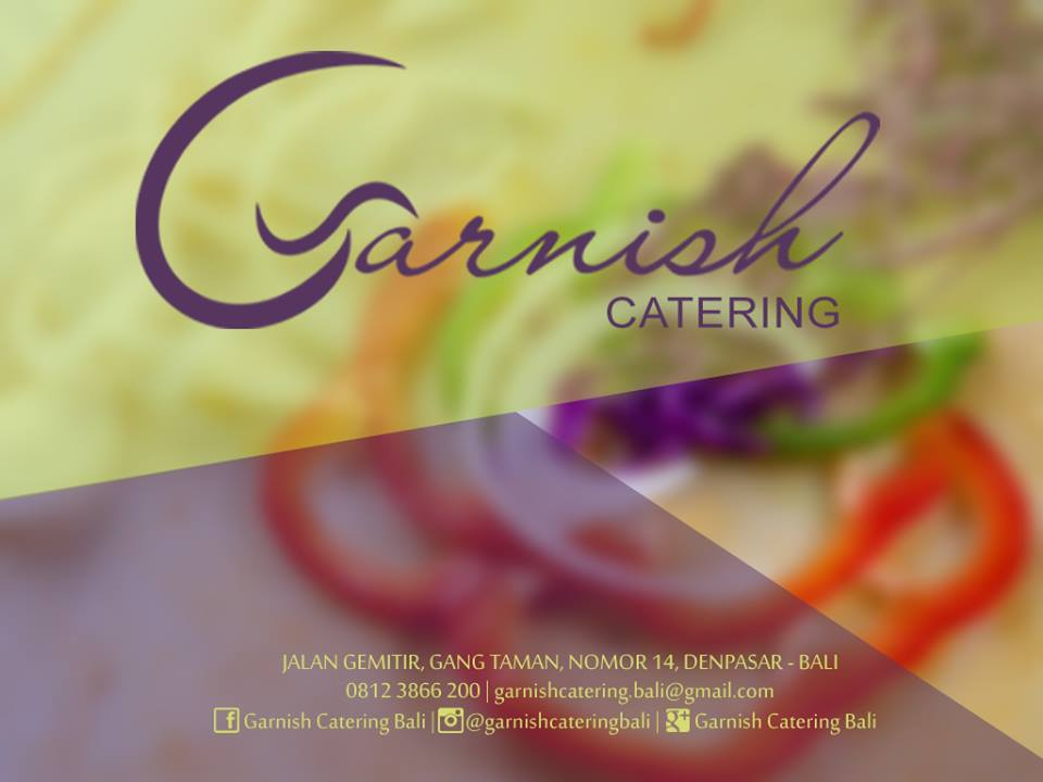 Garnish Catering Bali
