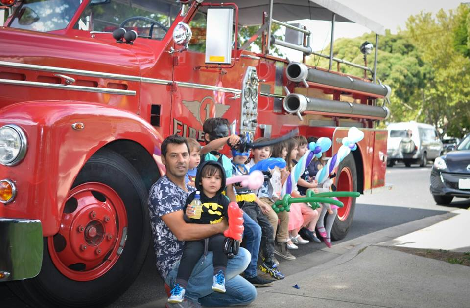 Fire Truck Hire Melbourne