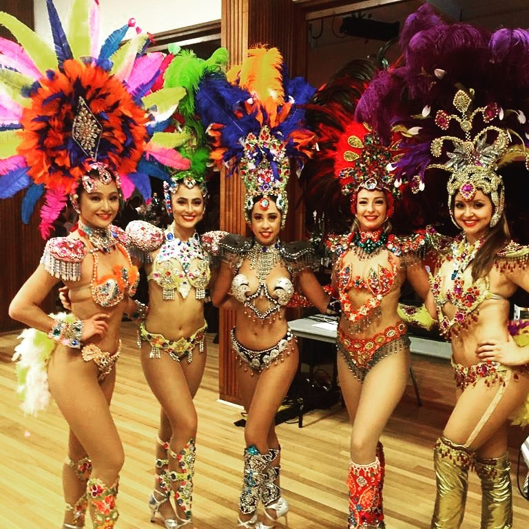 Brazilian and Latin Party Hire Dancers & Entertainers - Entertainment Dance Creations