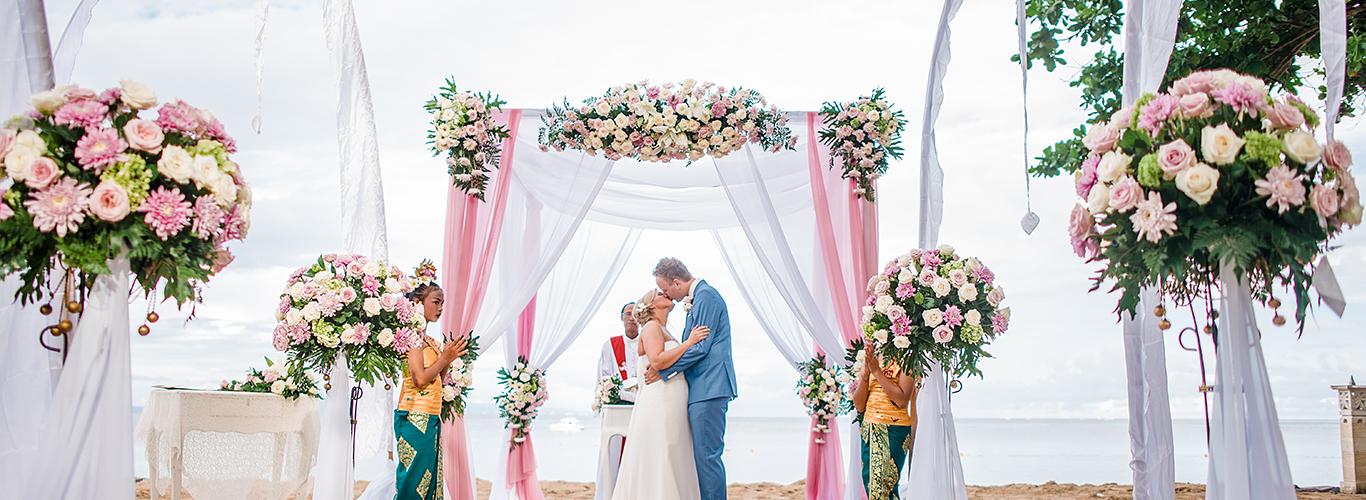 Beach Wedding at Novotel Bali Benoa Resort
