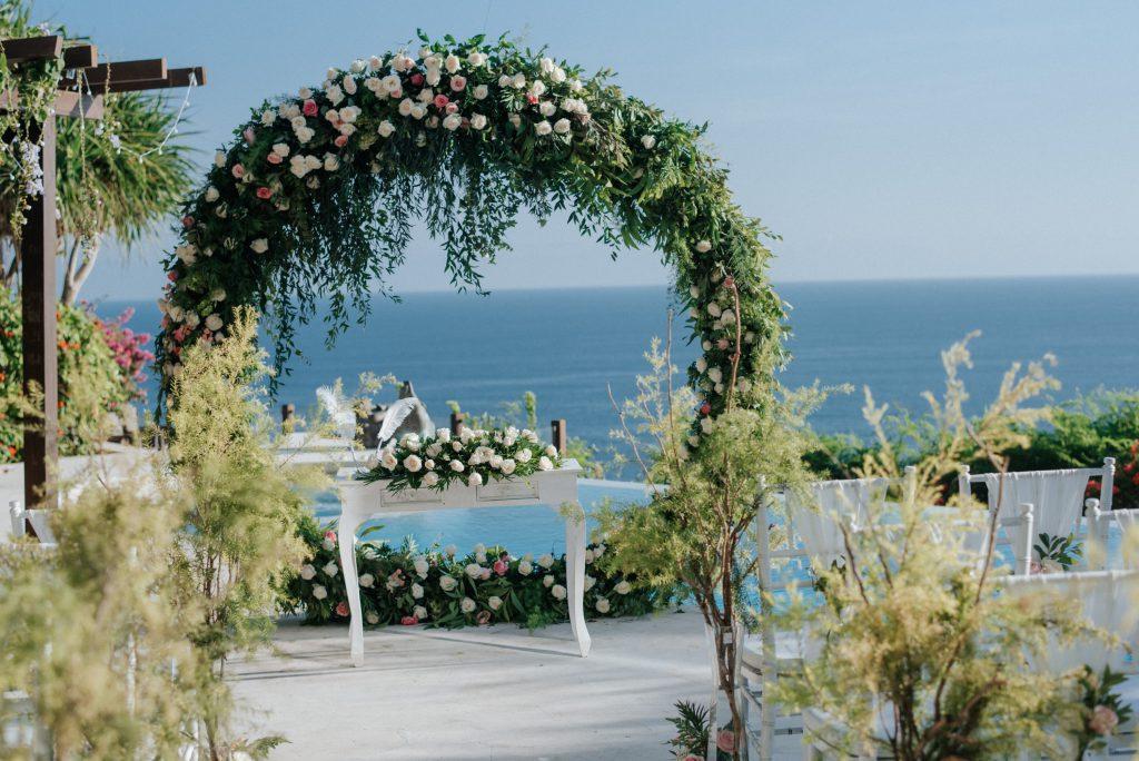 Bali's best 5 star Intimate Private Villa Wedding Package by Parties2Weddings at Karma Kandara