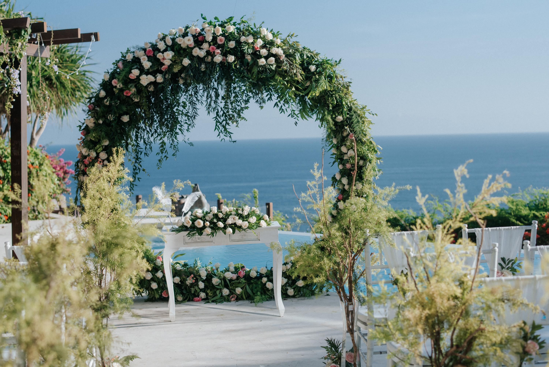 Clifftop Wedding Venue Bali at Karma Kandara