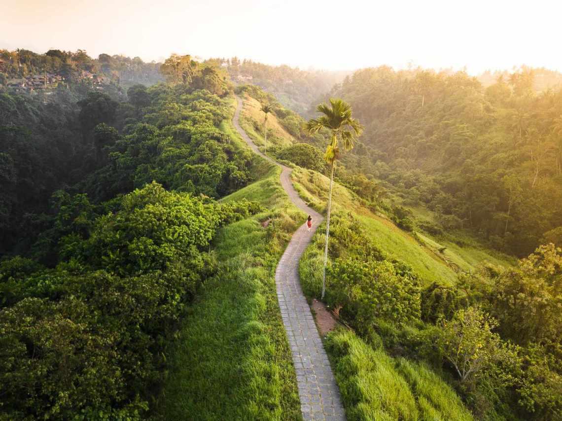 Honeymoon Ideas Campuhan Ridge Bali