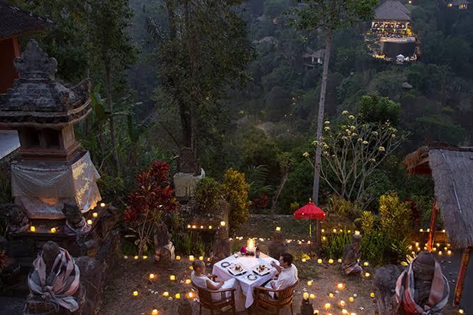 Anniversary Ideas at Hanging Gardens of Bali