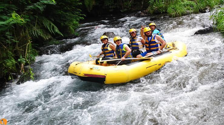Honeymoon Ideas River Rafting Bali