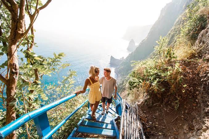 Bali Honeymoon Activities at Peguyangan Waterfal Bali