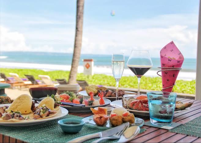 Honeymoon Ideas at Starfish Bloo Restaurant Bali