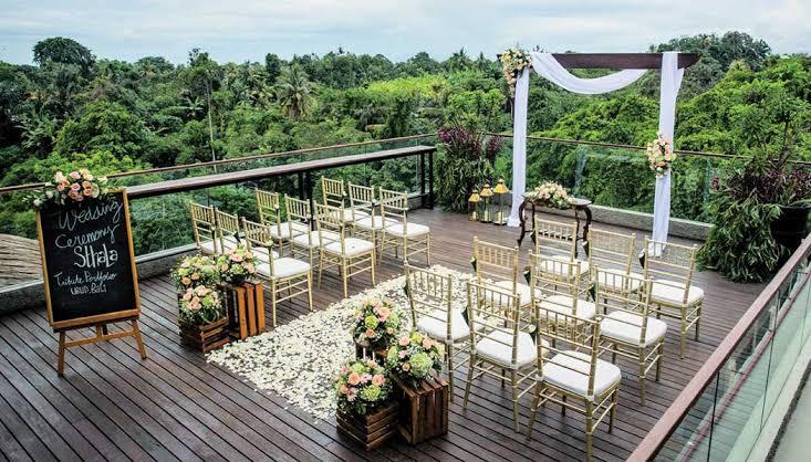 Wedding Venue at Sthala Ubud