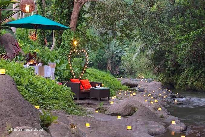 Wedding Anniversary at the Samaya Ubud