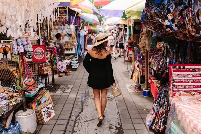 Girls Holiday at Ubud Market
