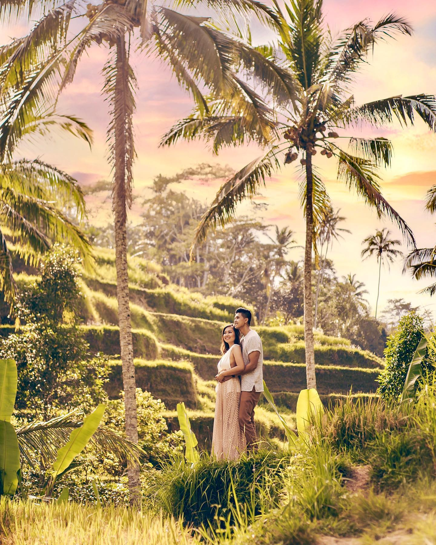 Pre-Wedding Photo Shoot at Tegalalang Rice Terraces
