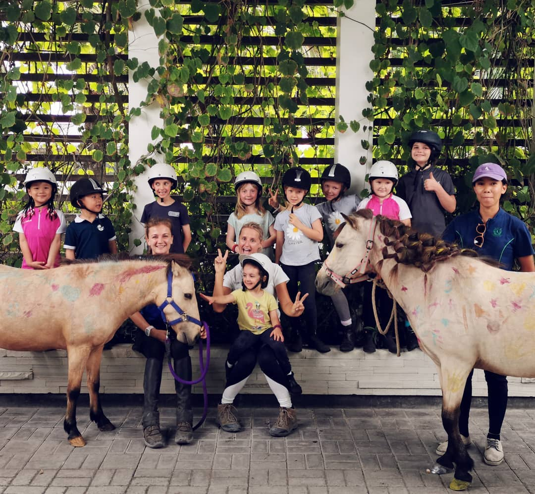 Family Getaway in Bali at Equestrian Centre