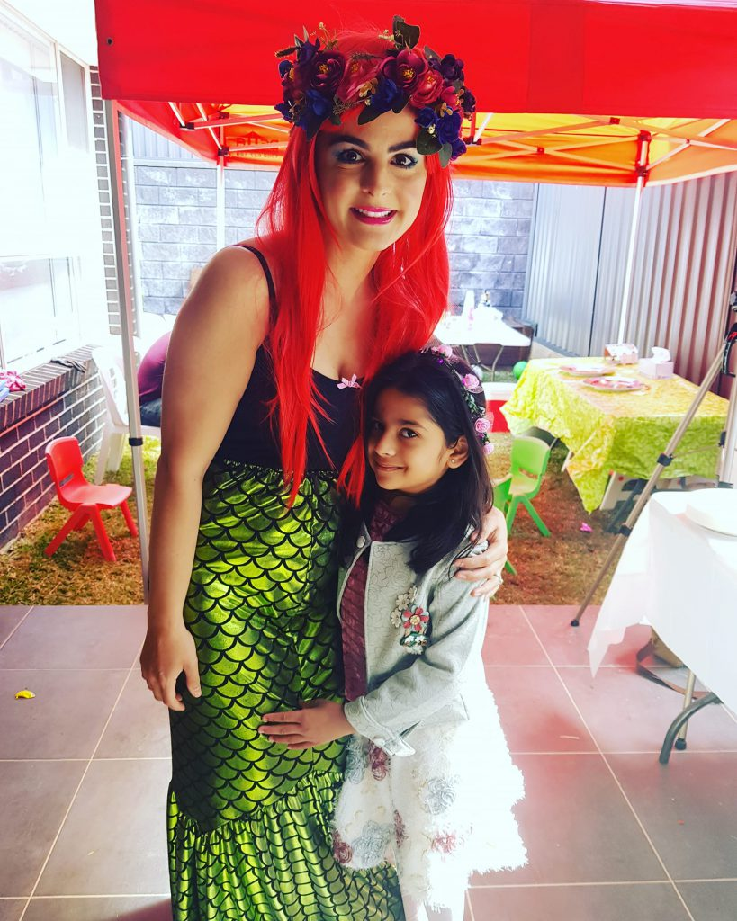 Mermaid Theme Party Entertainers