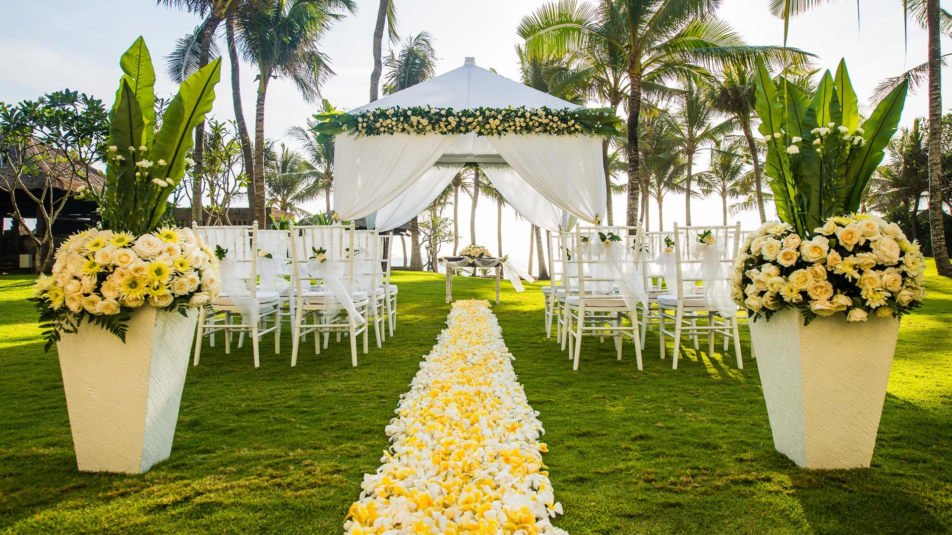 Wedding Venues in Legian Seminyak at The Legian Resort