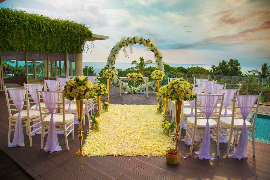 Sheraton Bali Kuta Resort - Garden Wedding Venue at North Courtyard