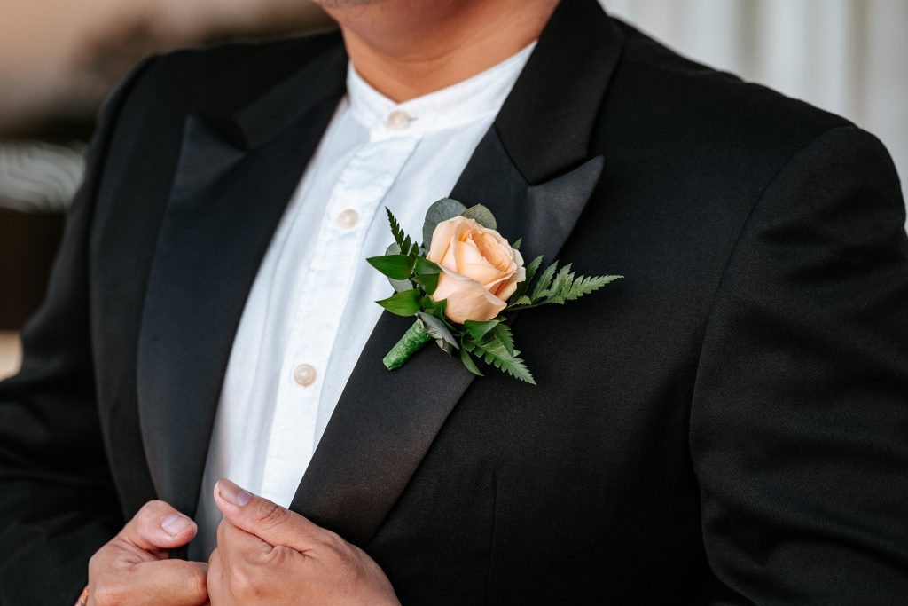 Wedding terminology: boutonnière