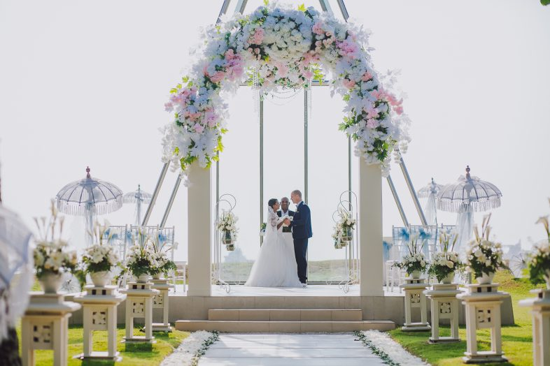Bali's best 5 star ocean beach chapel wedding at grand mirage in uluwattu by Parties2Weddings