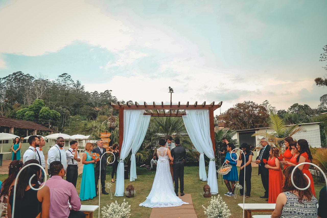 Garden Wedding Parties2Weddings