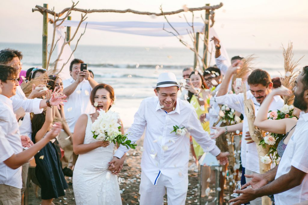 Grand Beach wedding