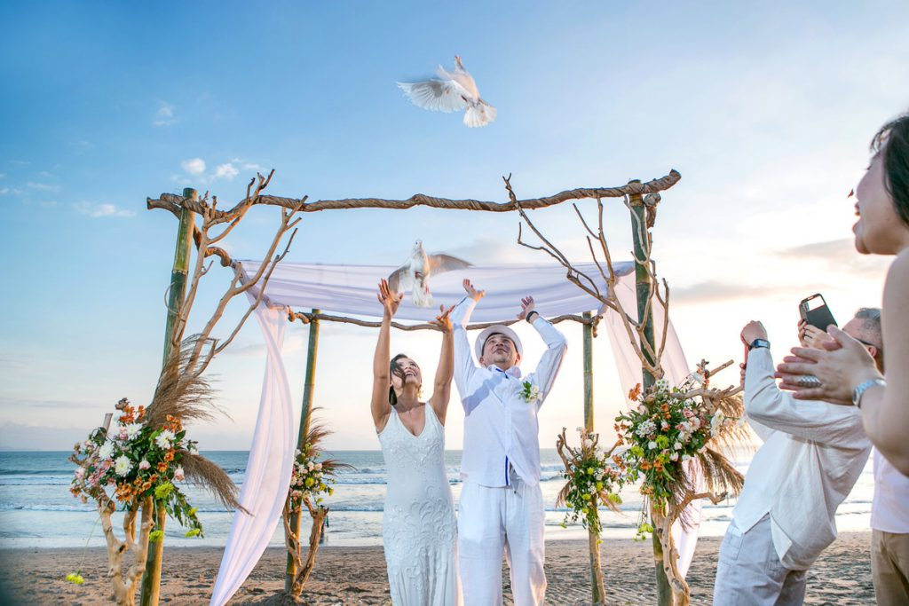 LV8 Resort Hotel Canggu Beach Wedding Blessing Package