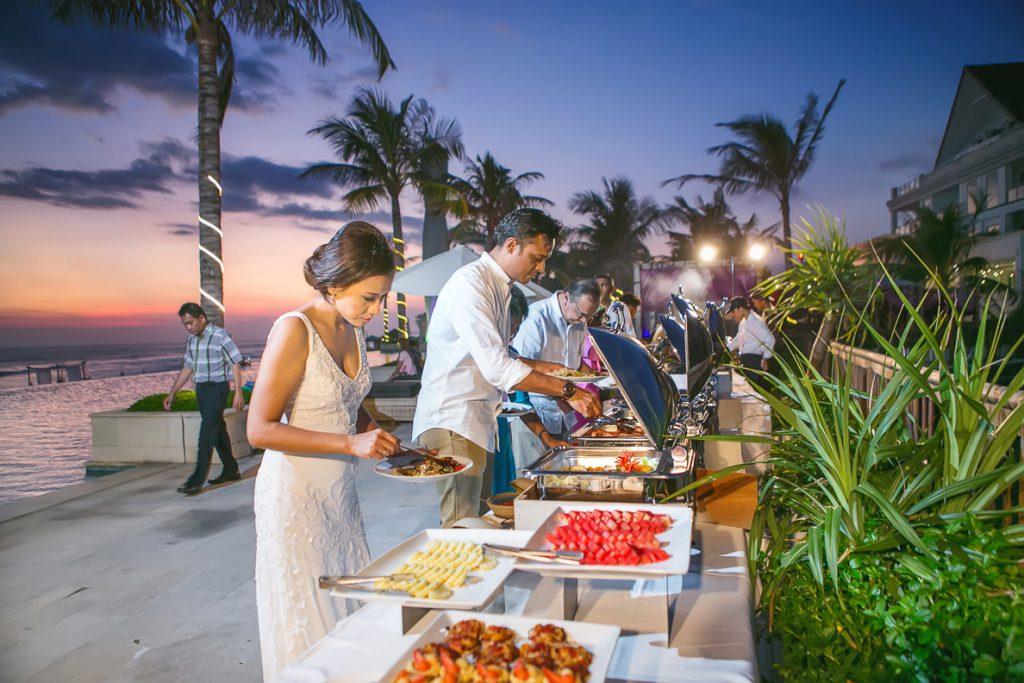 Grand Beach wedding
