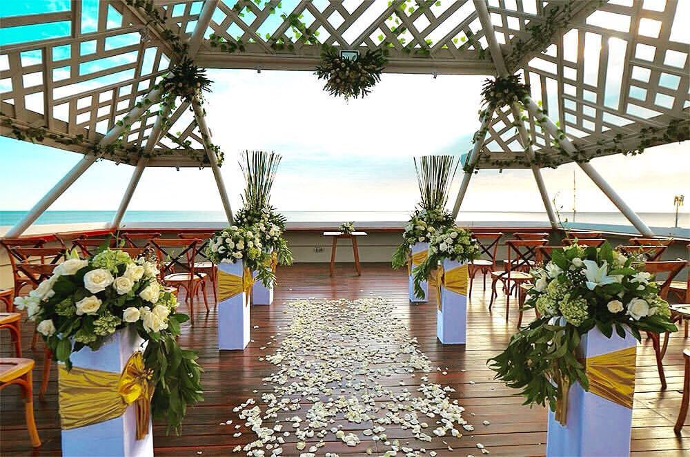 The Bandha wedding package Beachfront hotel