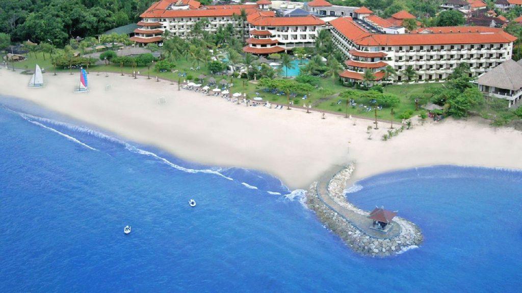 Bali's best 5 star ocean breeze chapel wedding, a family friendly beachside venue at grand mirage in uluwattu by Parties2Weddings