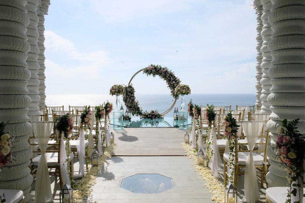 o Kamaya Bali Uluwatu Clifftop Morning Bliss Wedding Ceremony Package.