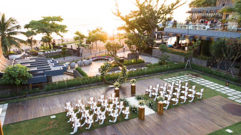 Hotel Indigo Bali Seminyak Beach 5 Star Beach Resort Wedding Ceremony Package by Parties2Weddings
