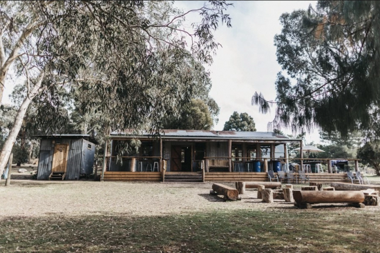 Melbourne Country style Wedding Venue Bonfire Station Microbrewery and Farmstay by Parties2Weddings