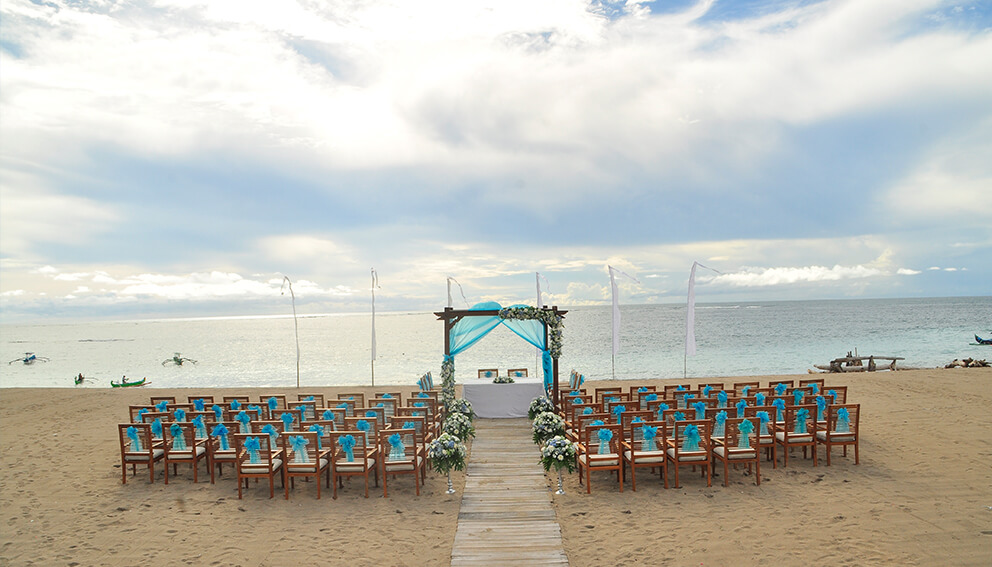 The Sandi Phala and Ma Joly Beach Resort Wedding Ceremony Package by Parties2Weddings