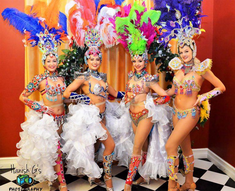 Party Entertainment Ideas  Latin Dancer