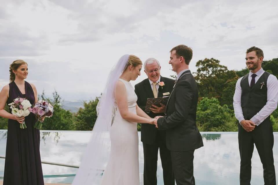 Brisbane Wedding Marriage Celebrant - Geoff Mazlin - Parties2Weddings