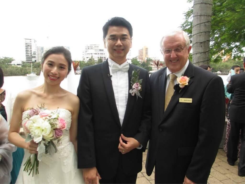 Brisbane Wedding Marriage Celebrant Geoff Mazlin I Do Creative Ceremonies