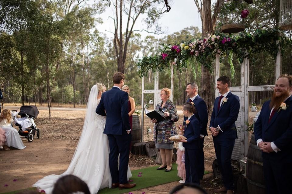 Hunter Valley New Castle Wedding Marriage Celebrant Francine O'Brien